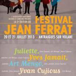 Festival Jean Ferrat 2013