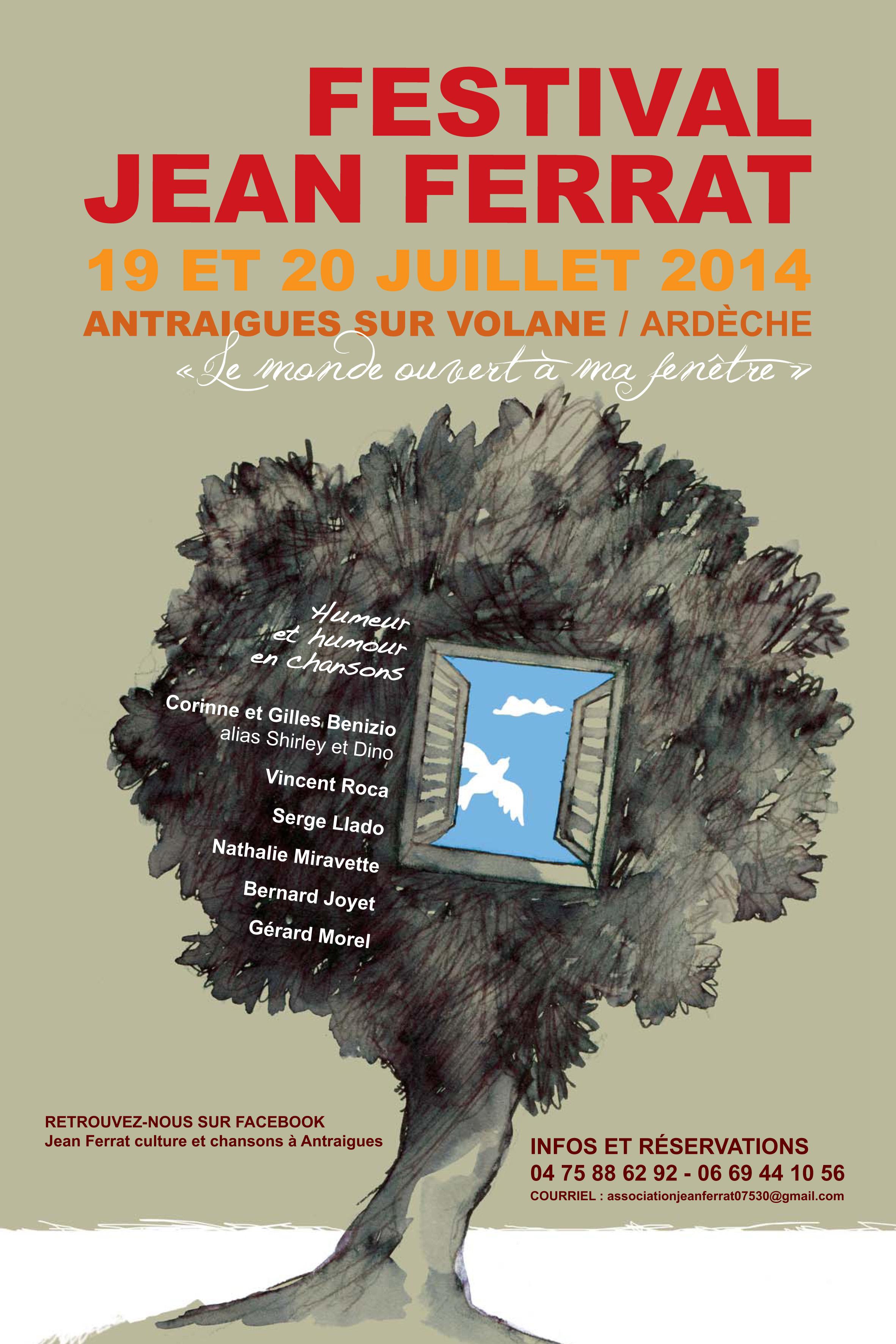 Maison jean ferrat antraigues festival jean ferrat 2014 for Antraigues sur volane maison de jean ferrat